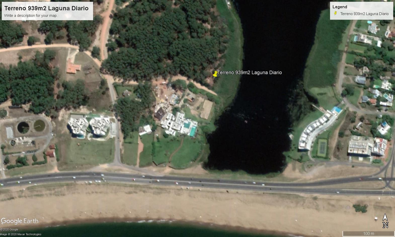 Terreno en Venta en Punta del Este Laguna del Diario