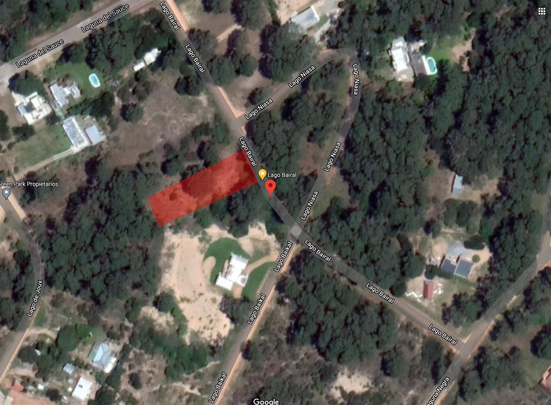 Land plot near Golf Club, Laguna del Sauce